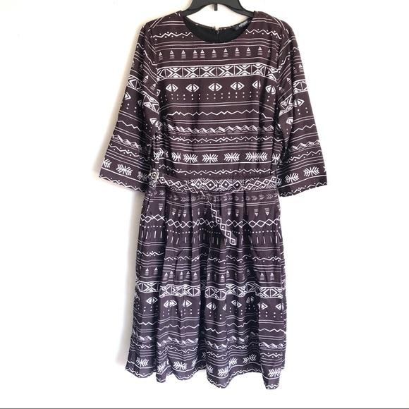 eshakti Dresses & Skirts - Eshakti Southwest Print Dress